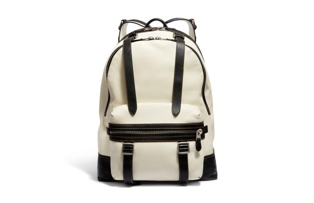 A Coach backpack.