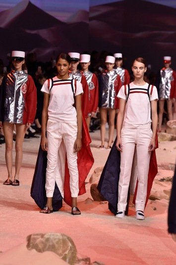 Moncler Gamme Rouge RTW Spring 2017