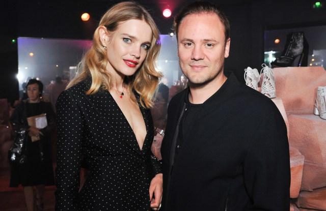 Natalia Vodianova and Nicholas Kirkwood