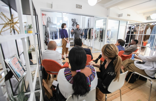 Artisans gain business insights at Brand Assembly.