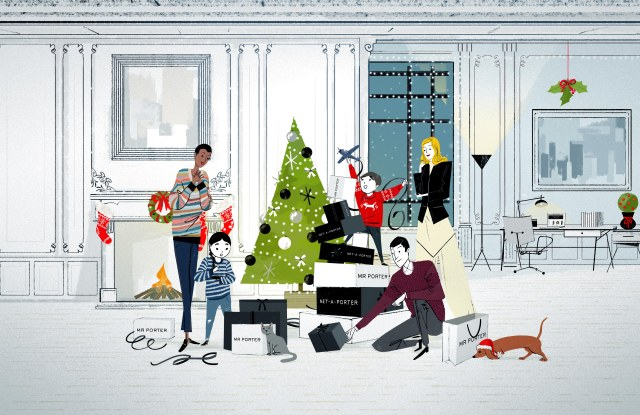 Net-a-porter and Mr Porter Holiday Campaign