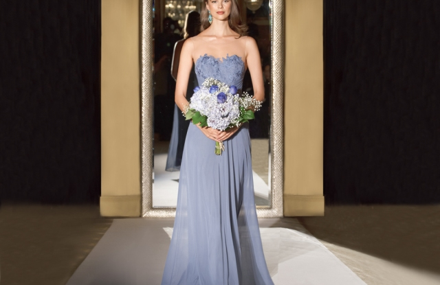 Oleg Cassini is launching a bridesmaid collection with David's Bridal.