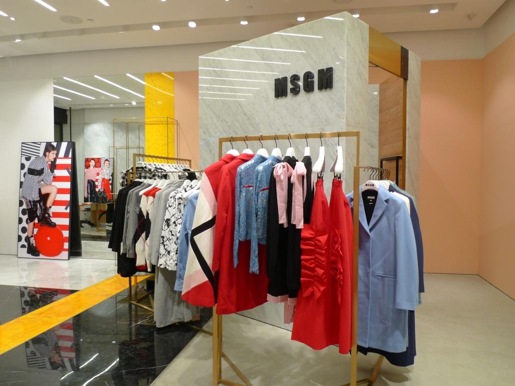 MSGM store in Macau