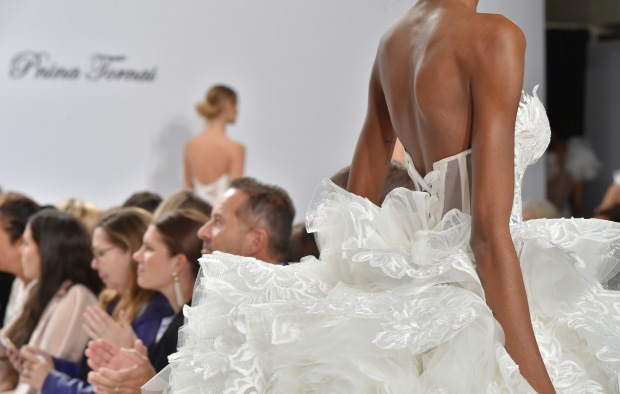 Pnina Tornai for Kleinfeld Bridal Fall 2017