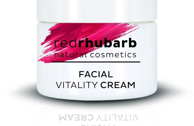 Redrhubarb's Facial Vitality Cream.