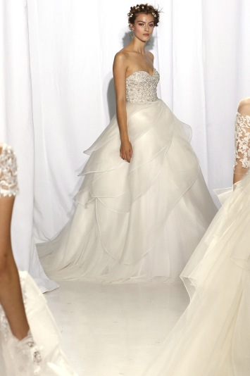 Reem Acra Bridal Fall 2017