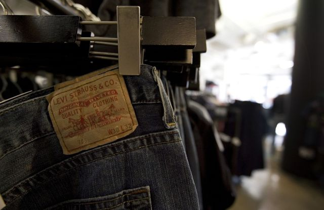 levi strauss chip bergh third quarter