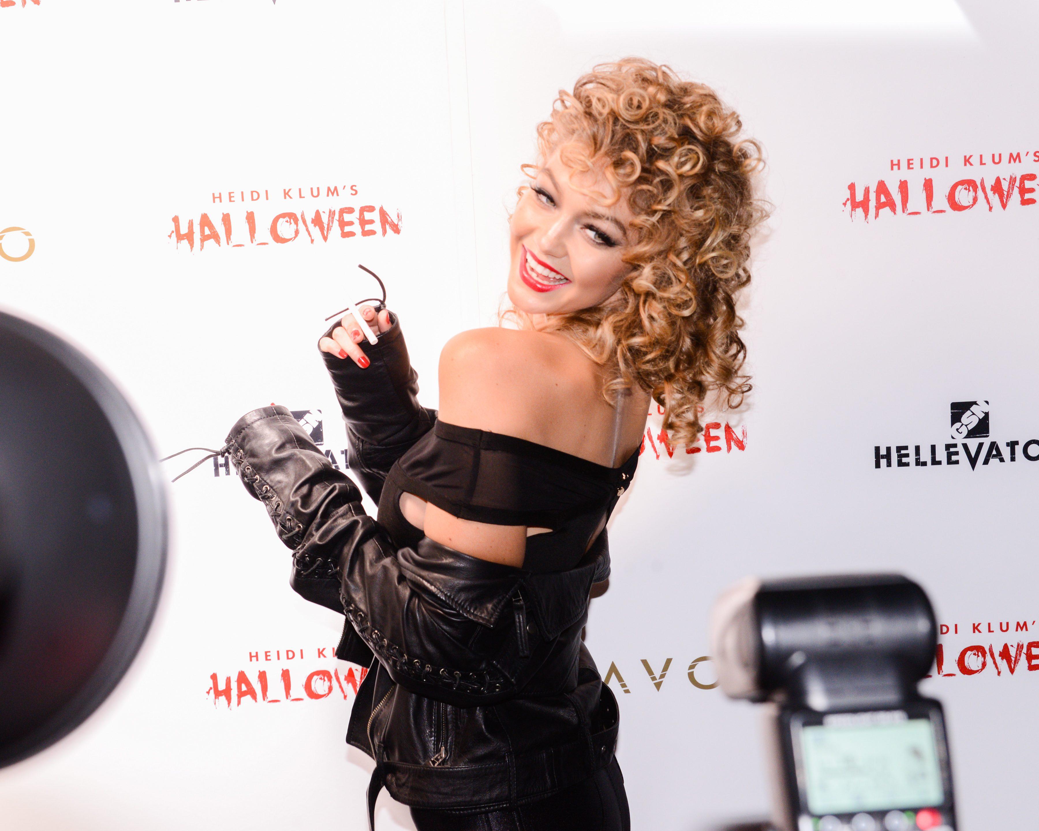 Gigi Hadid at Heidi Klum's 16th Annual Halloween Party