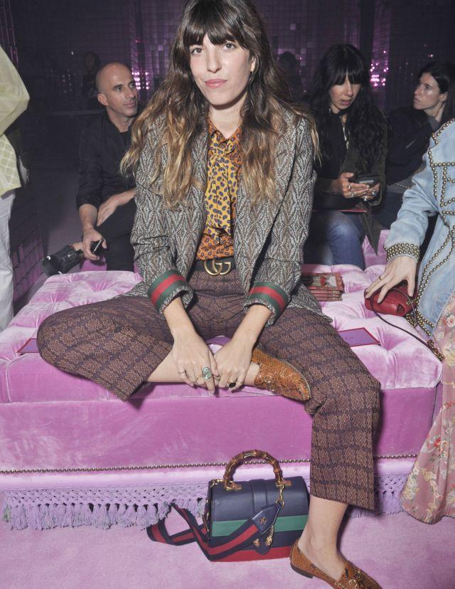Lou Doillon in Gucci