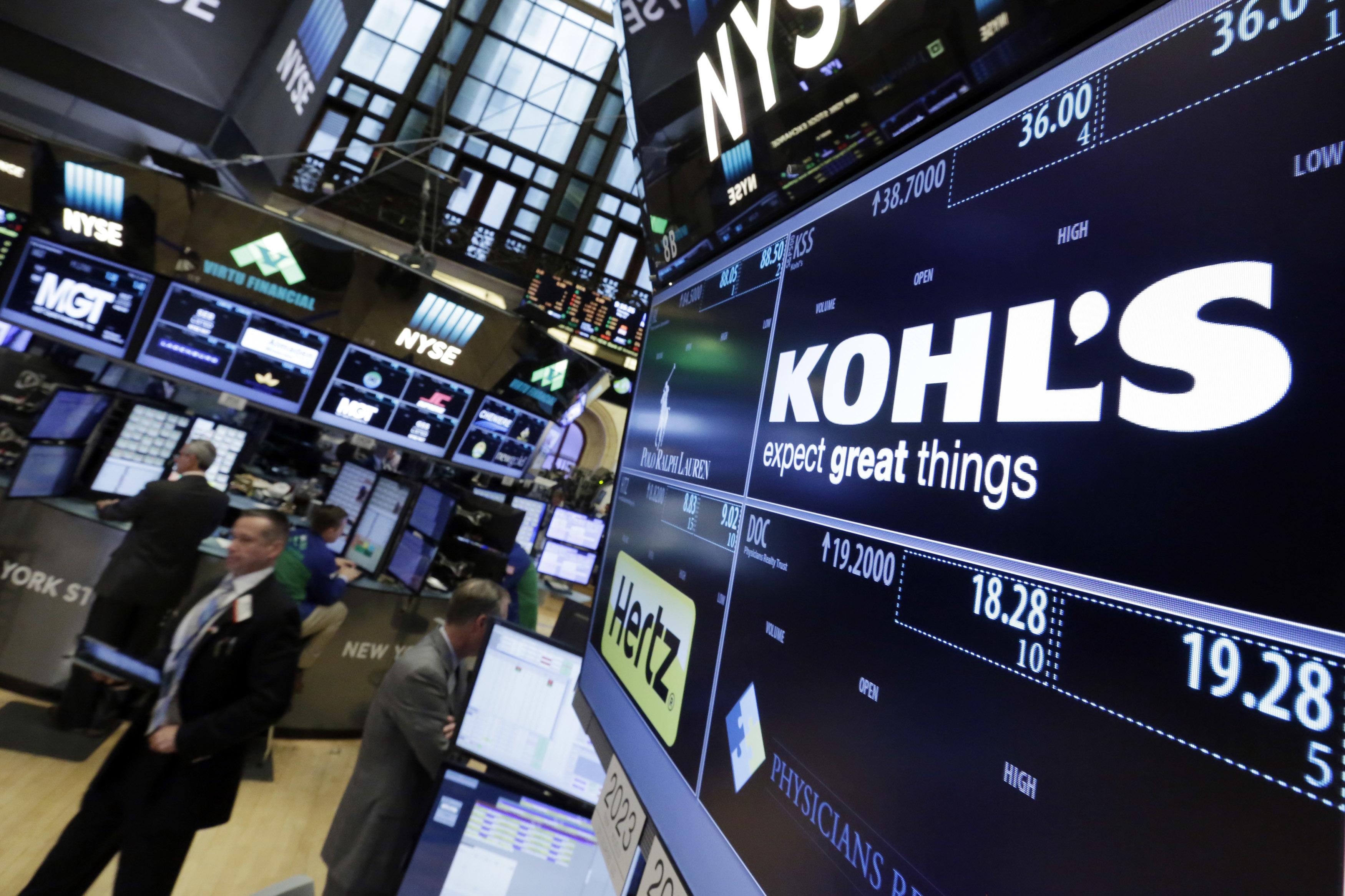 kohl's earnings kevin mansell