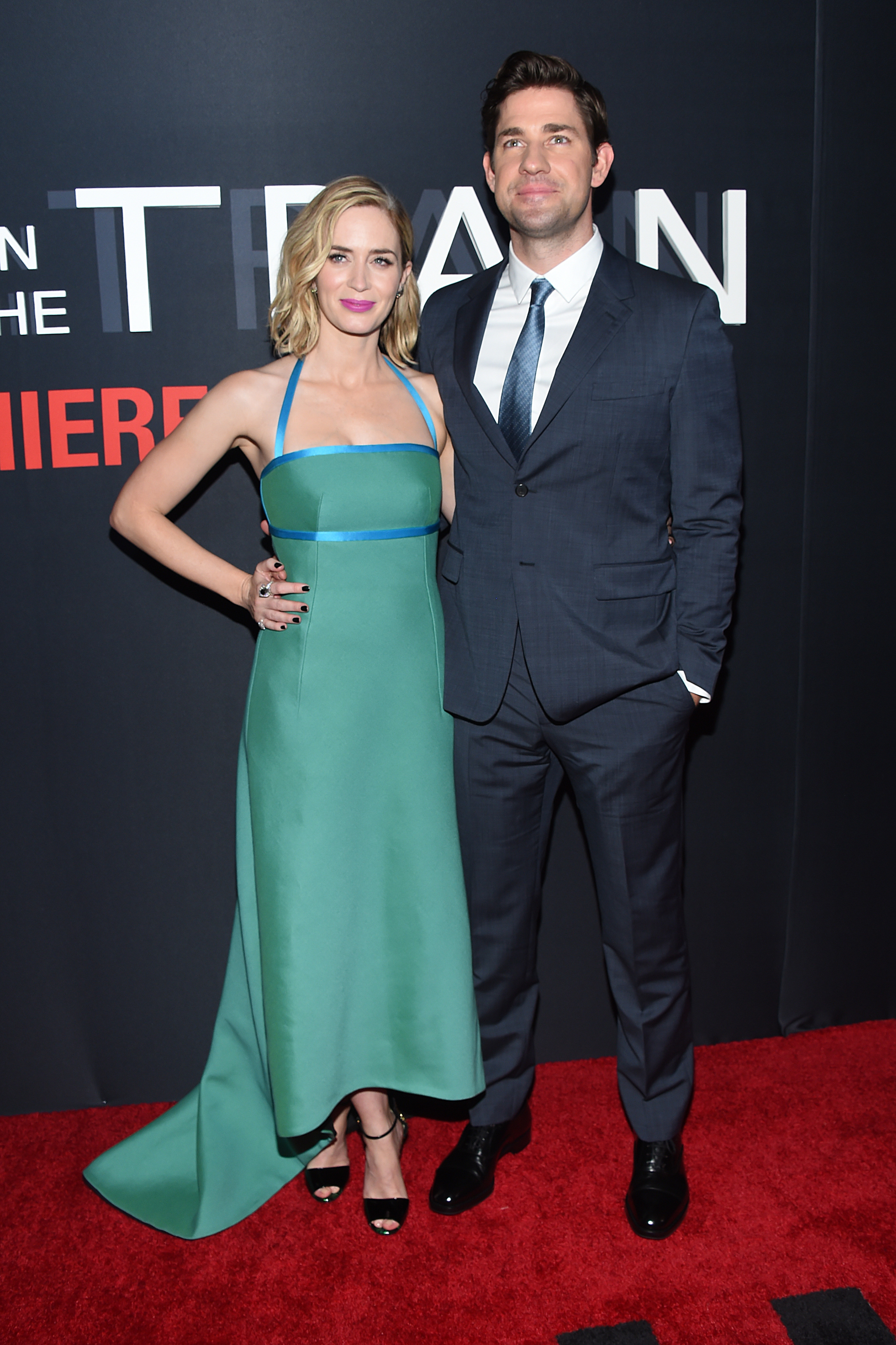 """The Girl on the Train"" film premiere, New York"