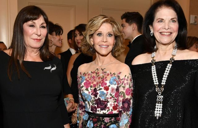 Carousel of Hope Ball 2016 Anjelica Huston, Jane Fonda and Sherry Lansing