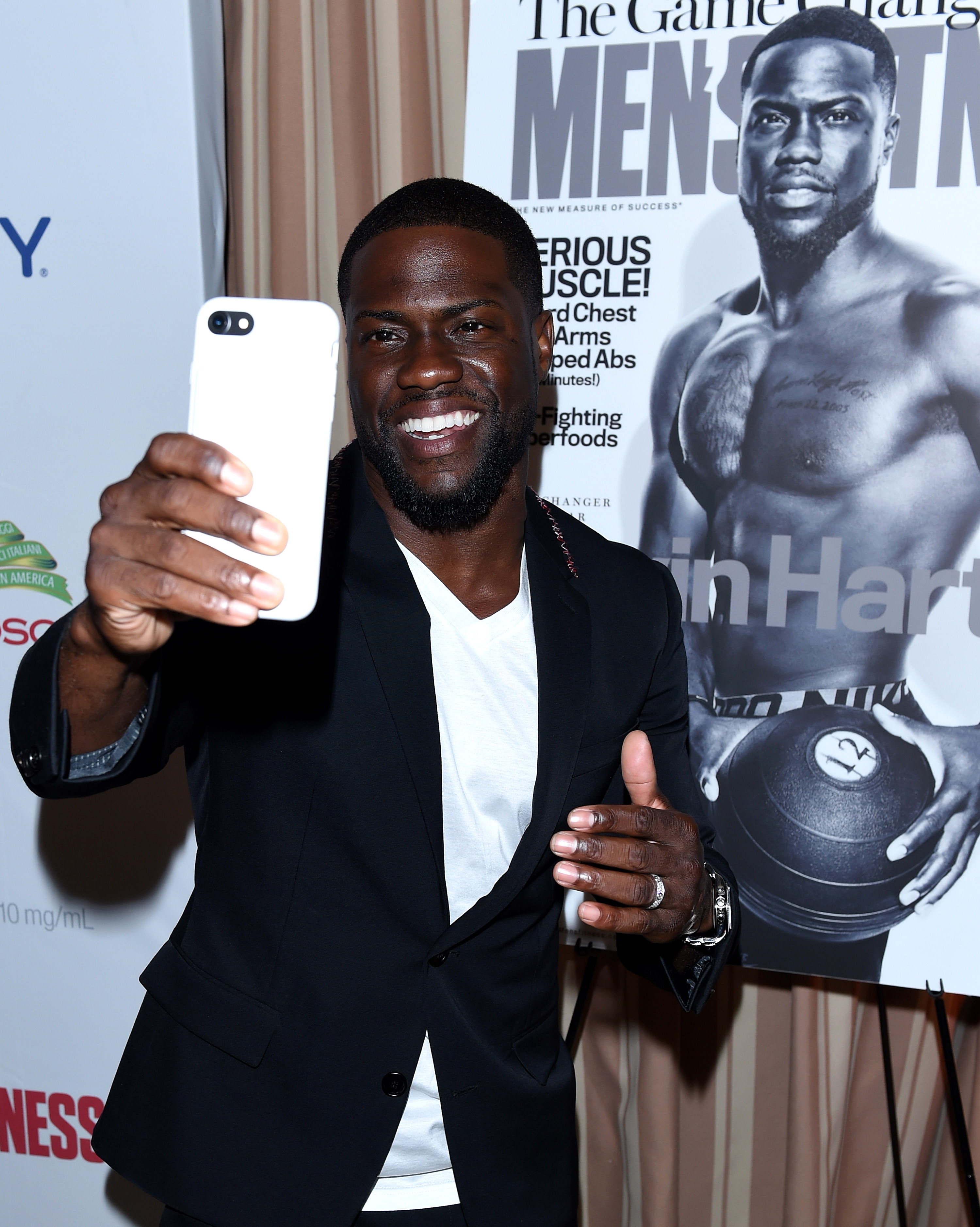 Men's Fitness 'Game Changers' party Kevin Hart