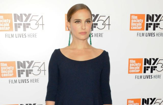 "Natalie Portman at the New York Film Festival of ""Jackie."""