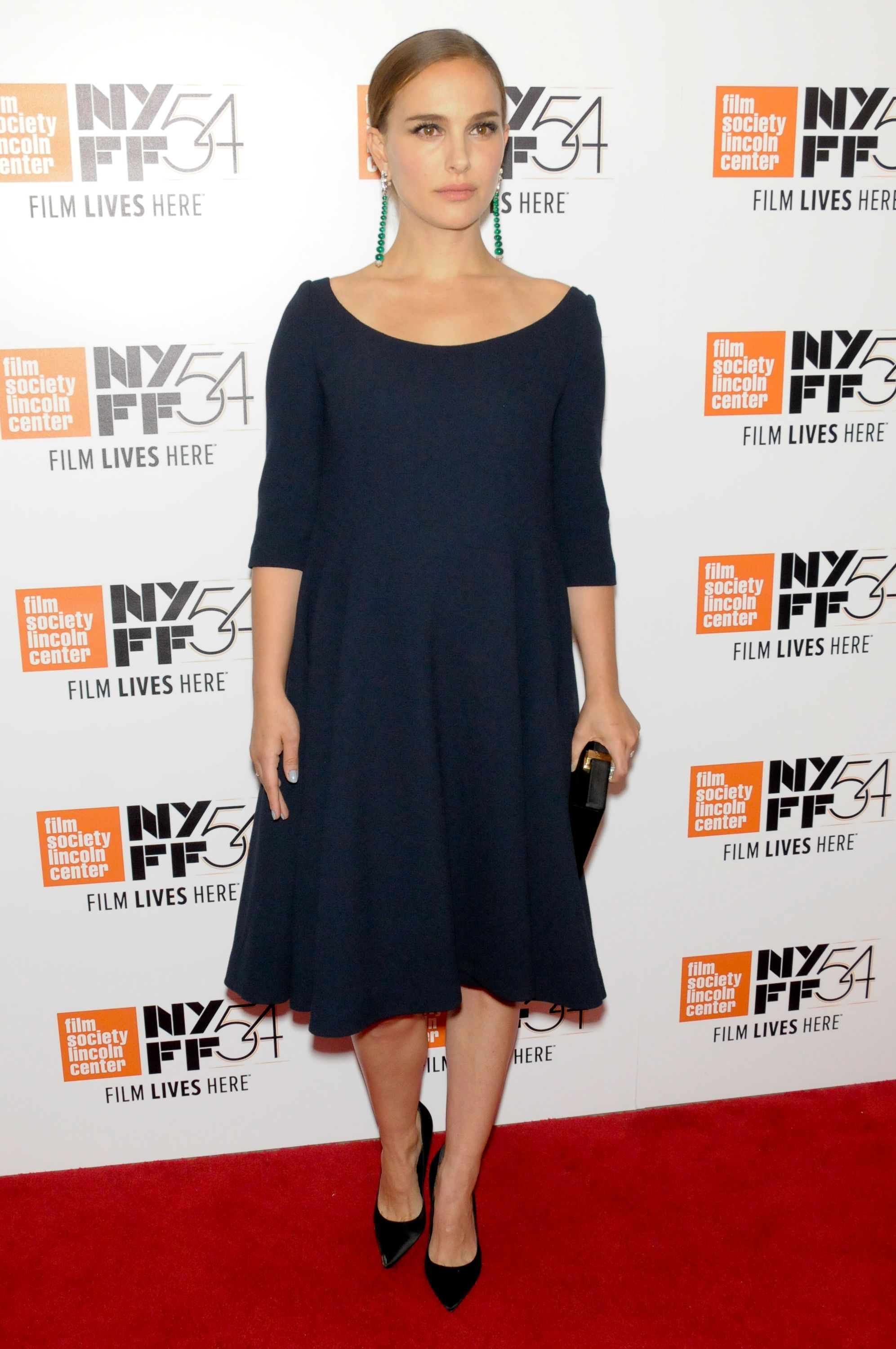 "Natalie Portman at the New York Film Festival of ""Jackie."""