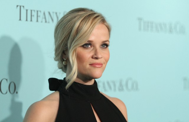 Resse Witherspoon at the Tiffany & Co. store renovation unveiling.