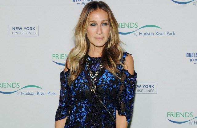 Sarah Jessica Parker at the Friends of Hudson River Park Annual Gala in New York on Thursday.