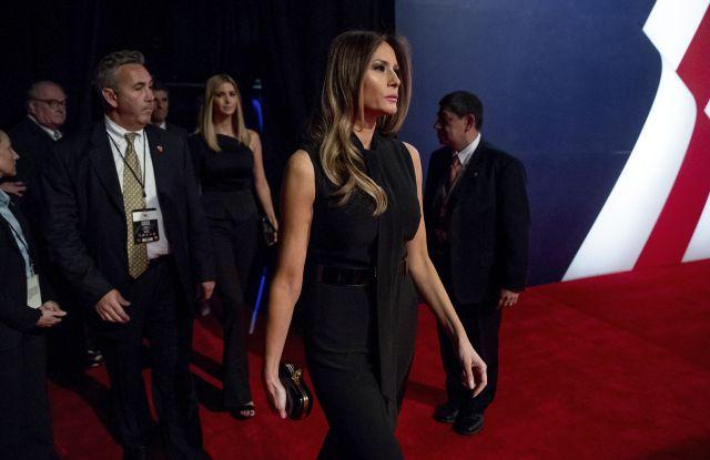 Melania Trump Campaign 2016 Debate