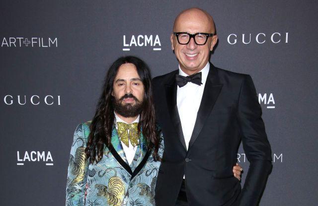 LACMA Art + Film Gala 2016 Alessandro Michele and Marco Bizzarri