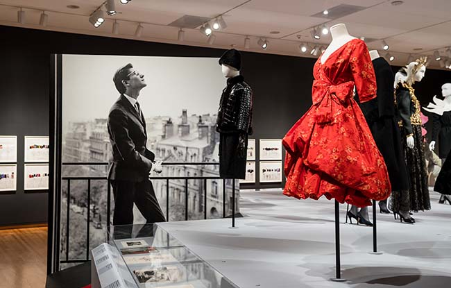 """Inside the """"Yves Saint Laurent: The Perfection of Style"""" Exhibit at the Seattle Art Museum."""