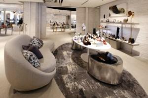 Inside Saks Fifth Avenue's 10022-Shoe store in Greenwich, CT
