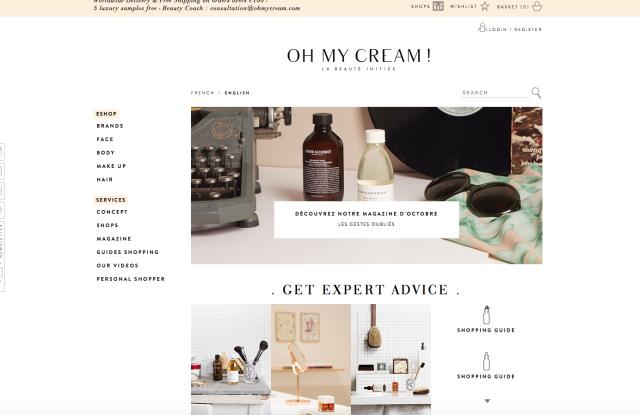 Oh My Cream online
