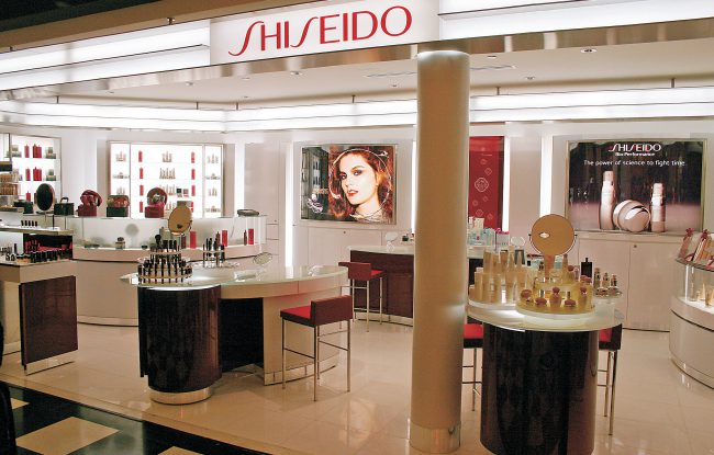 A Shiseido outpost at Bloomingdale's.