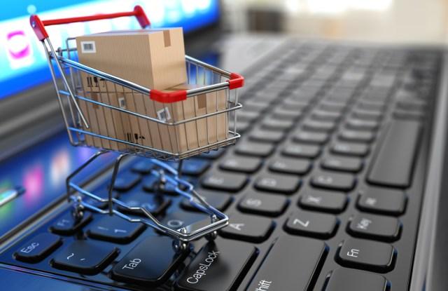 Shopping online e-commerce