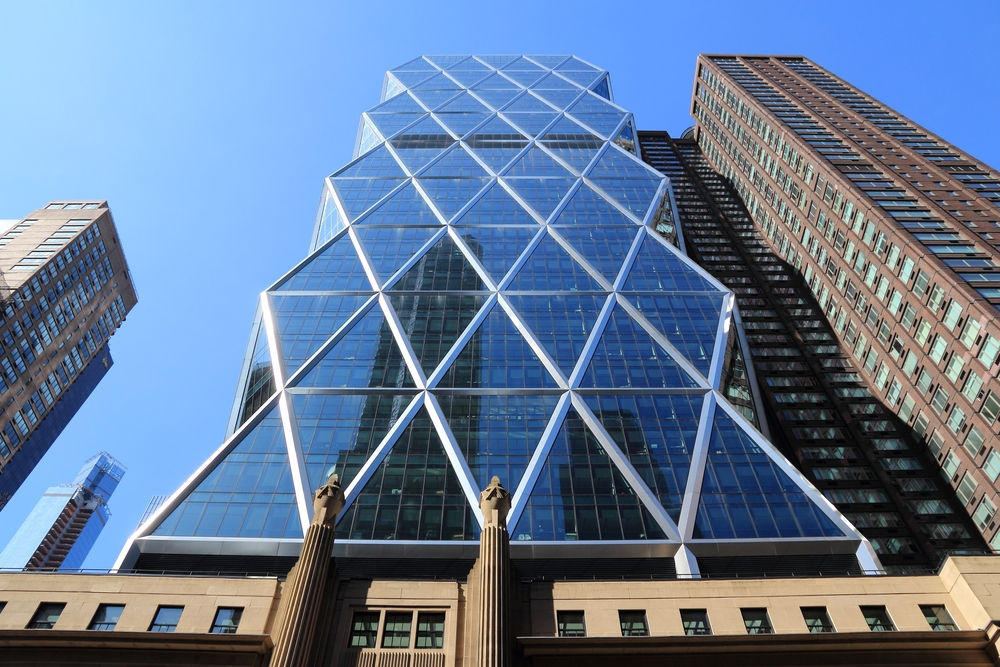 Hearst headquarters in New York.