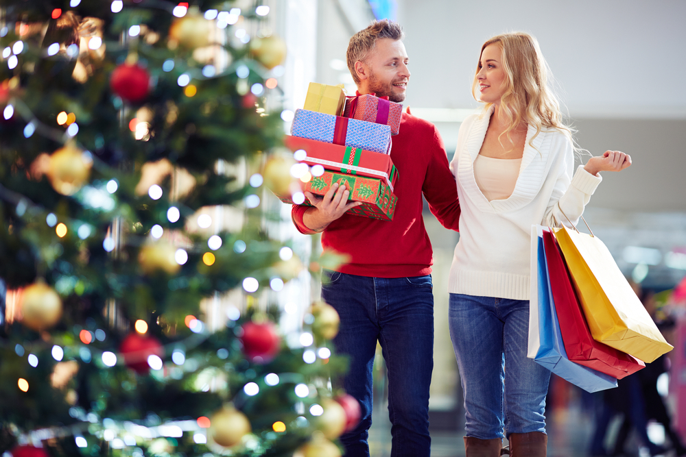 Holiday spending is seen increasing this year.