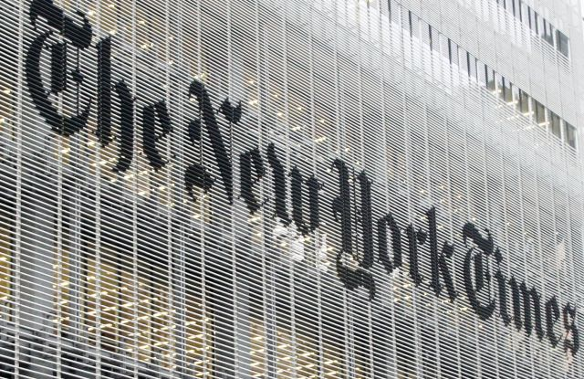 New York Times building Manhattan