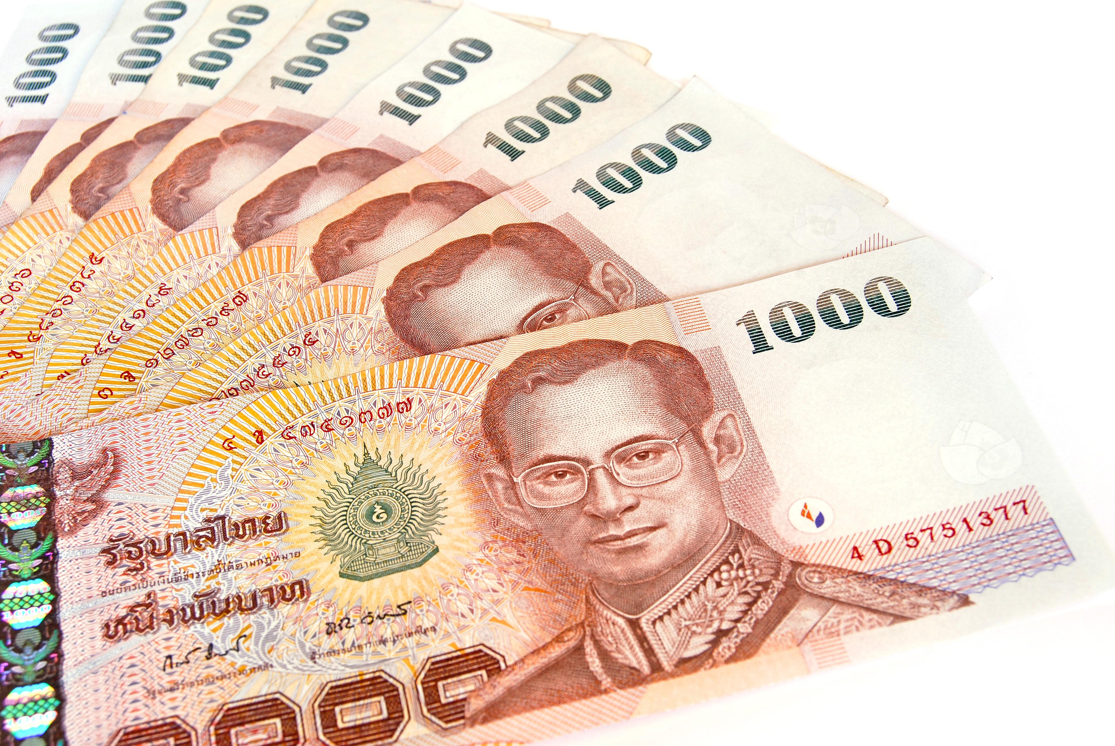 Thai Currency Falls