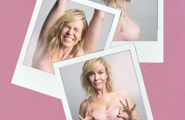Chelsea Handler's collaboration with Stella McCartney for Breast Cancer Awareness