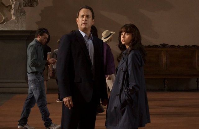 "A Scene From ""Inferno"" Tom Hanks and Felicity Jones"