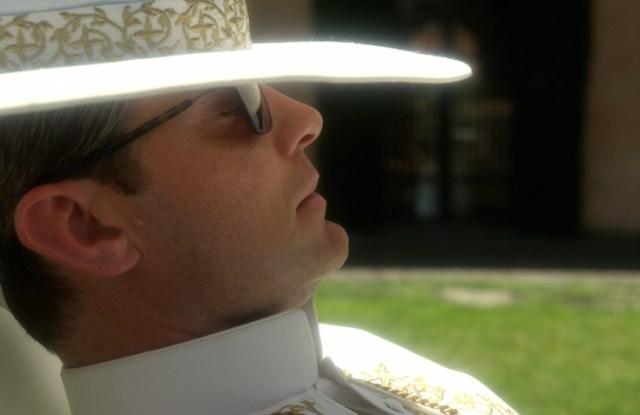 "A scene from ""The Young Pope"" Giorgio Armani"