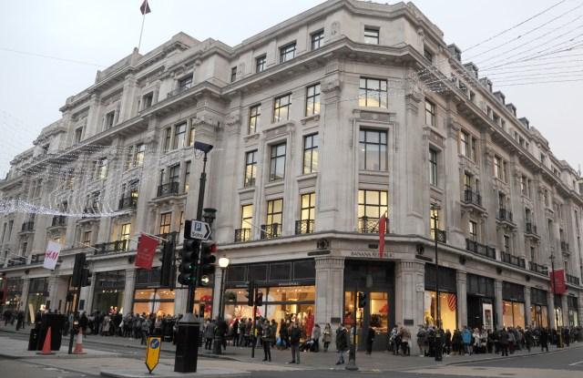 A view of Regent Street