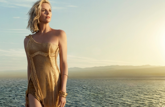 Charlize Theron in the new J'Adore ad.