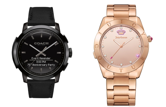 HP Watches from Coach, Juicy Couture