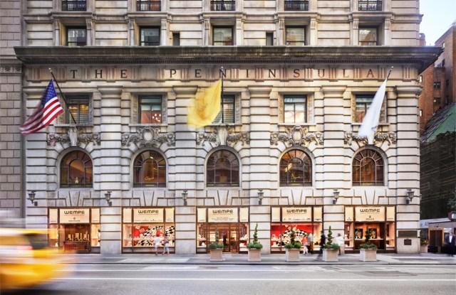 Wempe raised its profile on Fifth Avenue.