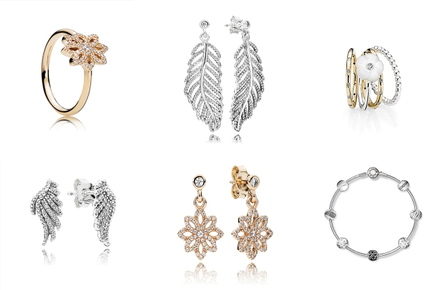 Looks from Pandora's fall collection.