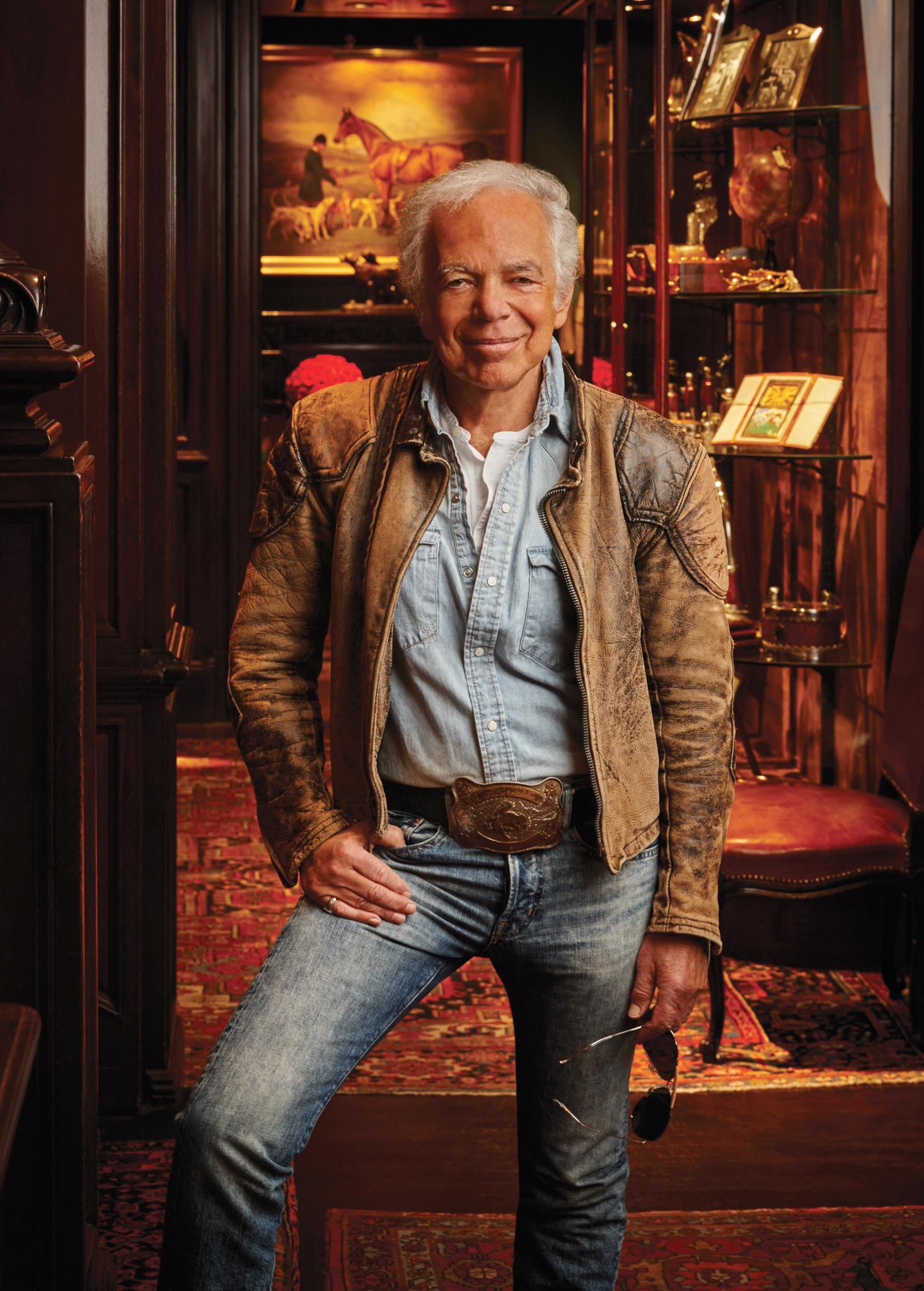 WWD Honors Ralph Lauren: John B. Fairchild Award