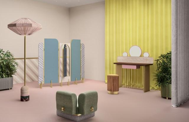 Fendi and Cristina Celestino's The Happy Booth rendering.