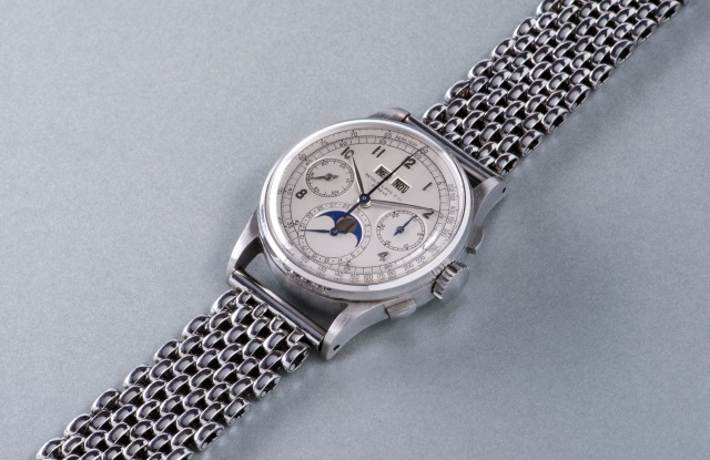 The record-breaking Patek Philippe watch.