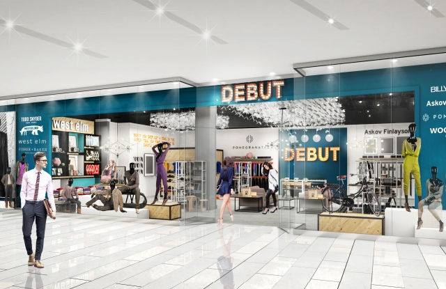 A rendering of Debut at Mall of America.