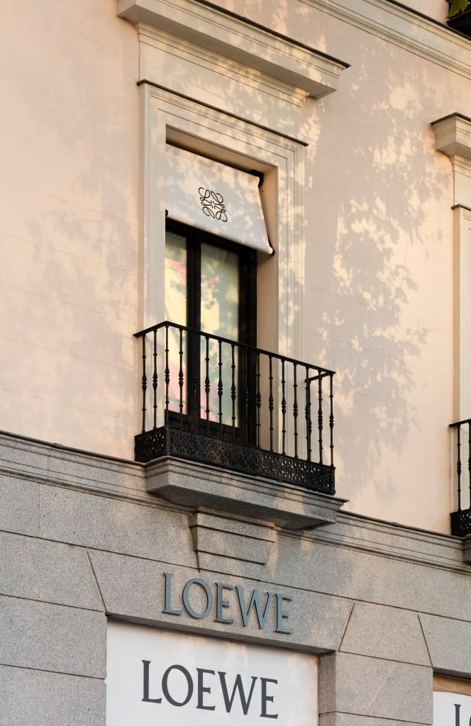 The Loewe flagship in Madrid.