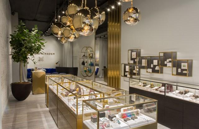 Monica Vinader's SoHo store.
