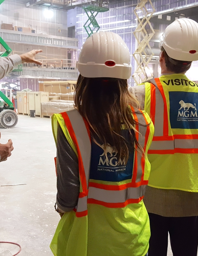 Sarah Jessica Parker and business partner George Malkemus III tour the property during construction