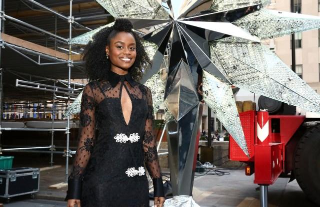 2016 Swarovski Star Raising at Rockefeller Center Christmas Tree