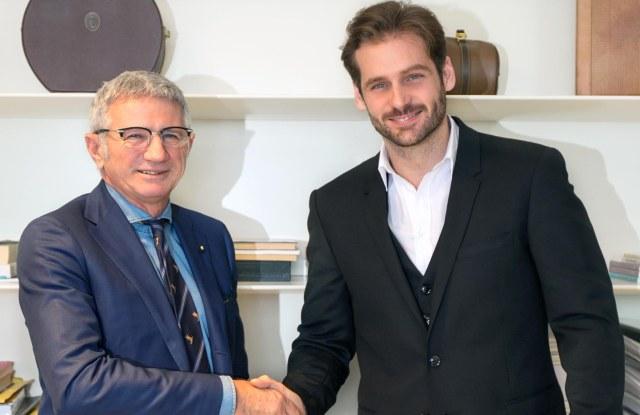 Andrea Lardini and Tomaso Trussardi.