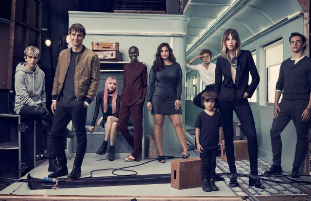 Alek Wek, Ashley Graham, and more star in H&M's holiday ad campaign.